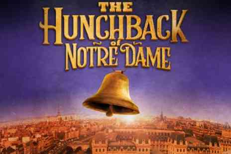 Hunchback of Notre Dame - One best available ticket from 8th August To 1st September - Save 30%