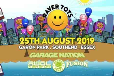 Raver Tots - One adult and one child or two adult and two child tickets on 25th August - Save 22%