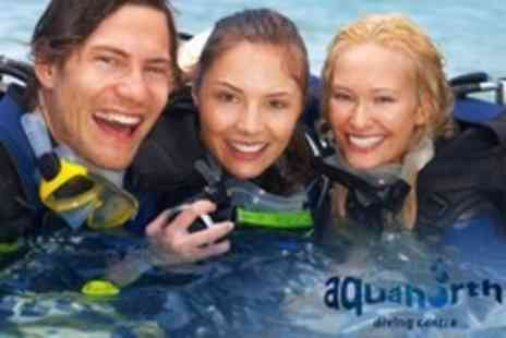 Aquanorth - Scuba Diving PADI Open Water Referral Course For One - Save 75%