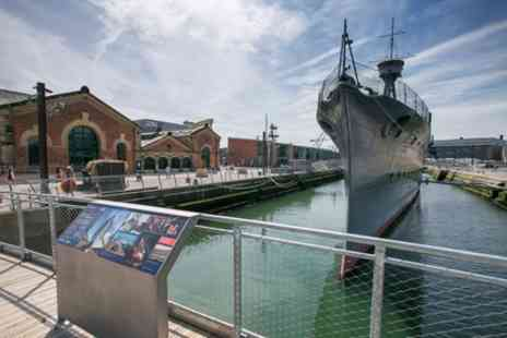 HMS Caroline - Adult, Child, Senior or Family Entry Tickets - Save 22%