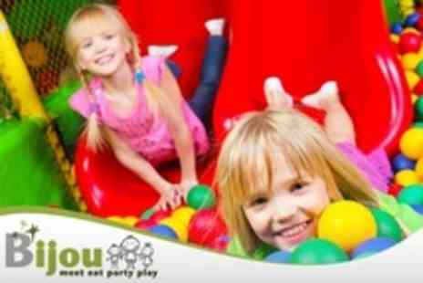 Bijou - Five Sessions of Soft Play With Jug of Squash - Save 63%