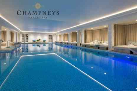 Champneys Eastwell Manor - Spa Day with Healthy Lunch and Choice of Treatment - Save 53%