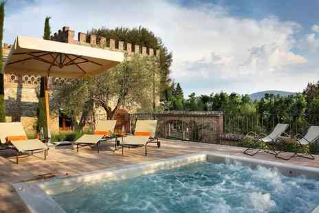 Borgo Dei Conti Resort - Five Star Luxury Collection: Gothic Château Surrounded by Rolling Vineyards for two - Save 0%