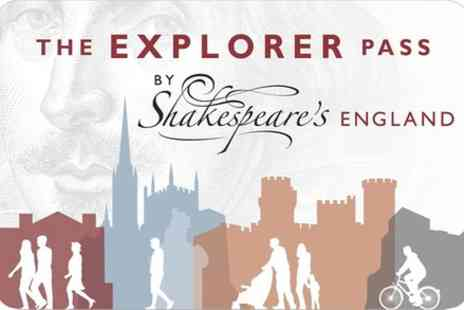 Shakespeares England Explorer Pass - Visit Shakespeares England Explorer 3 Day Pass - Save 0%