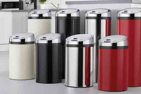 Groupon Goods Global GmbH - 30L or 50L Stainless Steel Automatic Sensor Bin - Save 0%
