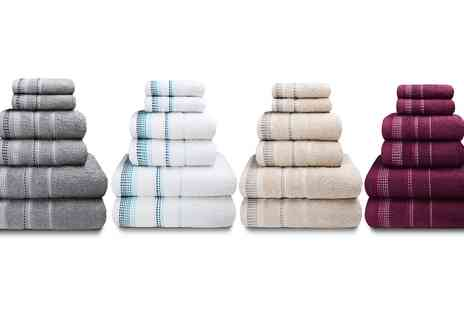 Groupon Goods Global GmbH - Rapport Home Berkley 500gsm Towel and Bath Sheets - Save 0%