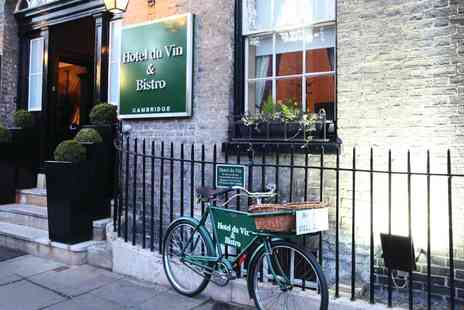 Hotel du Vin - 2 course meal and wine for Two - Save 30%