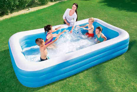 Direct2Public - Small Bestway rectangular swimming pool - Save 67%