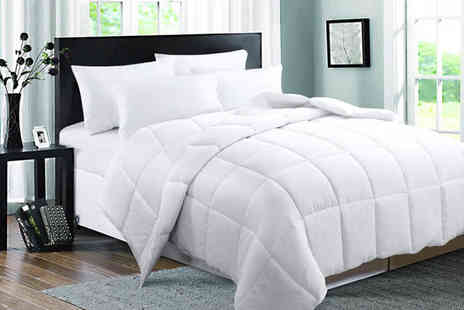 Direct Warehouse - Nine tog duck feather and down quilt choose from four sizes - Save 0%