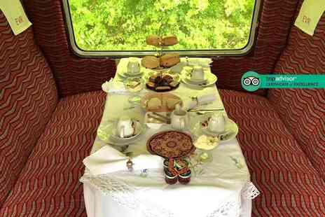 Ecclesbourne Valley Railway - Luxury afternoon tea for two people on a heritage train - Save 23%
