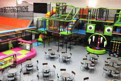 Greenwich Leisure - 90 minute soft play sessions including 45% off four trampolining sessions - Save 50%
