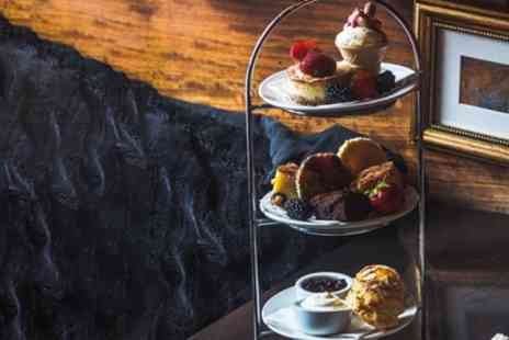 AM PM Bohemian Restaurant - Afternoon Tea with Aqua Spritz or Prosecco for Two or Four - Save 53%
