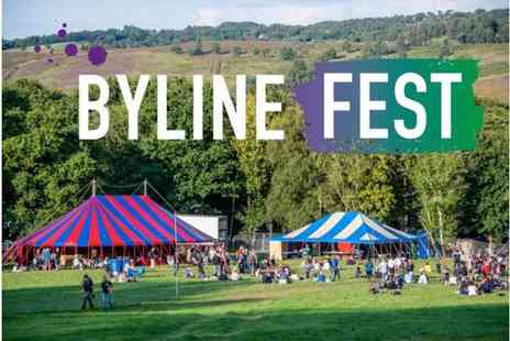 Bylinefest - Byline Festival, East Sussex An Inspiring and Unique Festival for the Whole Family - Save 25%