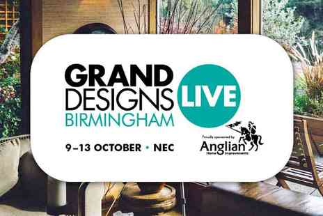 Media 10 - Early Bird Tickets Grand Designs Live 2019 The Award Winning Home Event - Save 55%