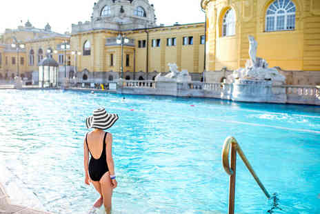 Via Holiday - Two nights Budapest break with Szechenyi Spa entry and flights - Save 45%