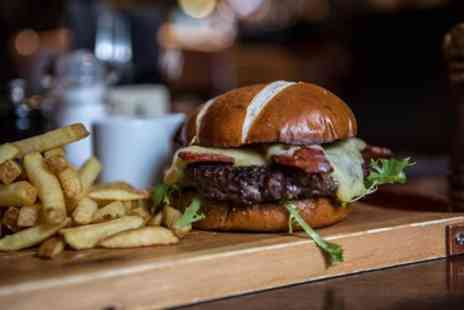 The Spotted Dog - Burgers for Two or Four with Optional Beer - Save 45%