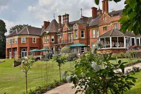 Moor Hall Hotel - Four Star Country House Stay 30 Minutes from Birmingham for two - Save 65%