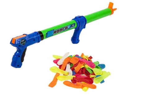 Dream Price Direct - Three in one water blaster and 80 water balloons - Save 40%