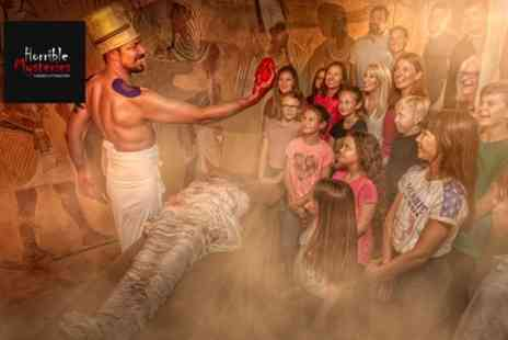 Horrible Mysteries - Experience for Up to Six from Phileas Foggs Attractions - Save 35%