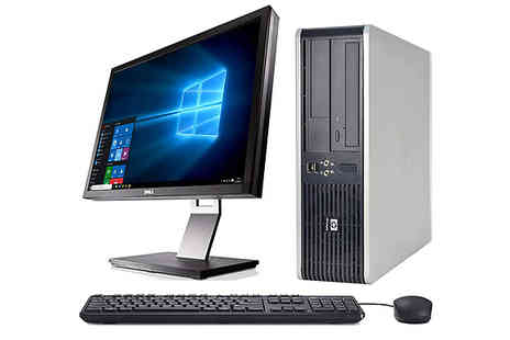 Glenluce Computers - HP DC7900 Desktop With 4Gb Ram Choose from 250Gb or 1TB Hdd - Save 76%