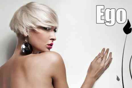 Ego Hair Salon - Full Head Highlights, Cut and Finish With MOROCCANOIL Treatment and Toner - Save 75%