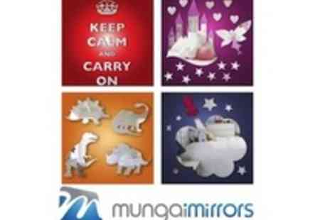 Mungai Mirrors - £15 to spend on acrylic, child safe mirrors - Save 53%