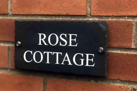 Your Perfect Canvas - Personalised house sign - Save 0%