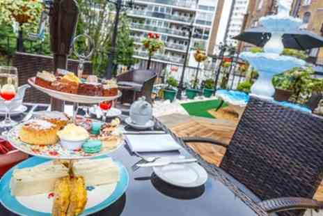 London Elizabeth Hotel - Afternoon Tea with Optional Glass of Prosecco for Two or Four - Save 70%
