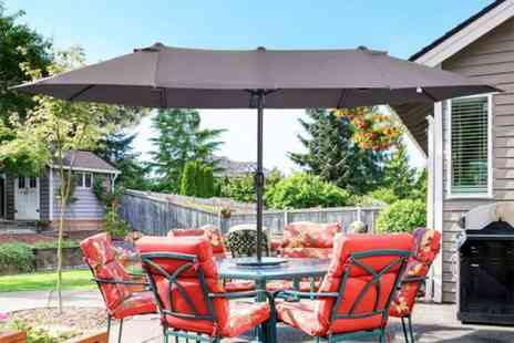MHStar - Duble sided sun parasol choose from five colours - Save 62%