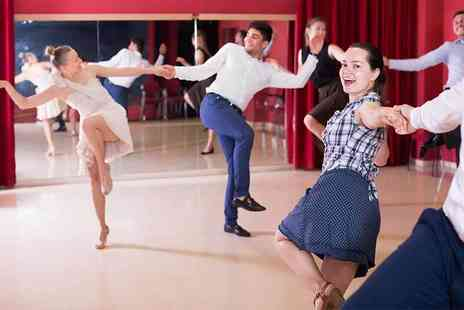 The Jive Club - Ten jive dance classes including freestyle social dances afterwards - Save 87%