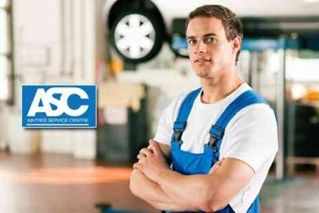 Aintree Service Centre - Full MOT and Vehicle Health Check - Save 69%