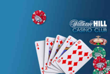William Hill - Buy a £5 Voucher and Get £30 Credit to use - Save 83%
