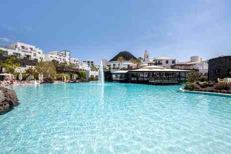 Hotel The Volcan Lanzarote - Five Star Opulent Sea Facing Resort Nearby the Marina - Save 60%
