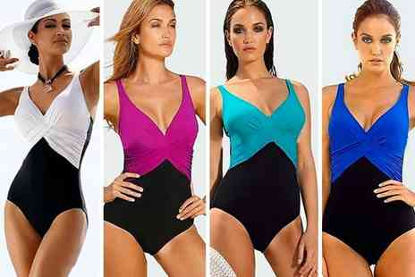 hey4beauty - Wrap style swimsuit - Save 73%