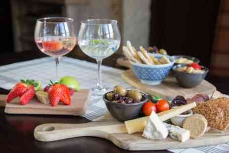 Drouthy Fox - Cocktail and Nibbles or Drinks and Platters for Two - Save 55%