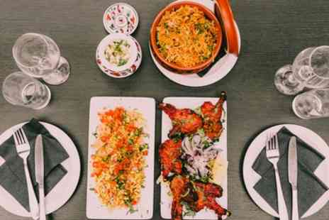 Salt Bar - Two Course Indian Meal with Rice or Naan to Share and Optional Cocaktail for Up to Sixa - Save 57%