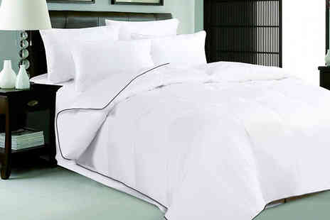Direct Warehouse - 6 Tog Hungarian Goose Feather and Down Duvet Choose from 4 Sizes - Save 42%