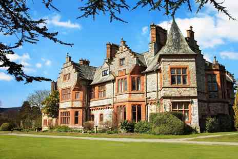 Caer Rhun Hall - Afternoon tea and bubbly for Two - Save 57%