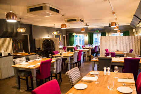 Poachers Brasserie - Two course lunch for two with a glass of Prosecco each - Save 48%