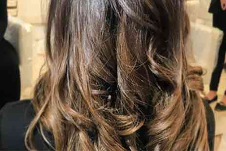 Bellisimos - Haircut and Finish with Optional Wash and Blow Dry or Half Head Highlights - Save 40%