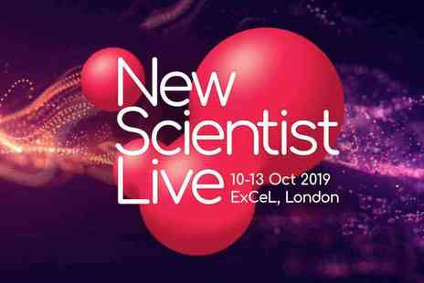 New Scientist Live - A Science Extravaganza for All Ages - Save 20%