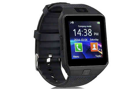 Impress Gadgets - Android Smart Watch with HD Camera Choose from Four Colours - Save 80%