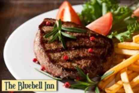 The Bluebell Inn - Starter or Dessert Plus Choice of Steak From the Grill For Two - Save 62%