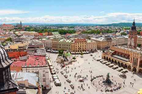 Weekender Breaks - Four Star Two nights Krakow break with breakfast and return flights - Save 29%