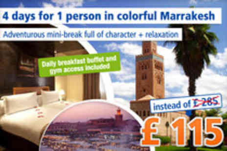 Dellarosa Hotel suites & spa - 4 day cultural exploration in Marrakesh - Save 60%