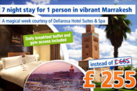 Dellarosa Hotel suites & spa - An unforgettable vacation in Morocco - Save 66%