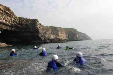 Jurassic Watersports - Three hour coasteering experience for one person - Save 50%