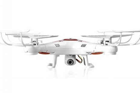 Wow What Who - 2.4GHZ Quadcopter Drone with Remote Control And Camera - Save 69%