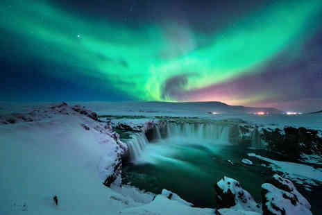 Crystal Travel - Two nights Reykjavik, Iceland break with Northern Lights tour and flights - Save 25%