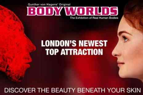 Body Worlds London Museum - One child or adult fast track ticket from 2nd To 31st August - Save 38%